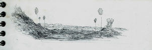 old Landscape Study by dhavid-arts