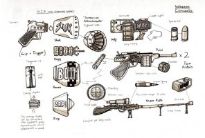 Gun Concepts by Lycanstrife