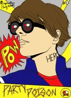 Comic Book Gerard Way by mnb73