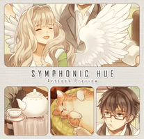 Symphonic Hue Art Book:: Preview + Pre-order now! by kissai
