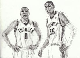 KD and Russ by AwardTour