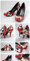 Lola the British Bull Terrier Heels by ponychops