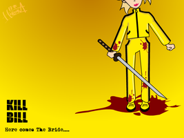 Kill Bill yellow by Hirok-A