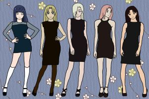 Little Black Dresses by DonnaSakura