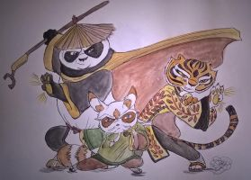 The Kung Fu Masters Of The Universe by nymeriadire