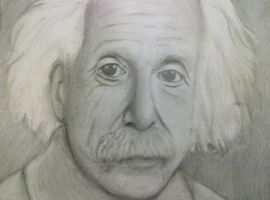 Famous physicist by VisualArt93