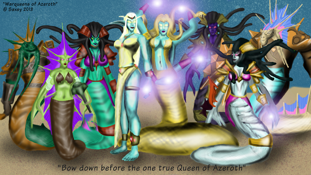 Warqueens Of Azshara by Saxsy