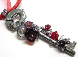 Passage Necklace no. 250 by sojourncuriosities