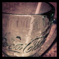 Coca-Cola Glass by Vincee095