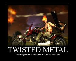 Twisted Metal motivator by SK100