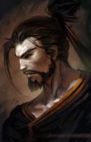 Overwatch - Hanzo by Zendanaar
