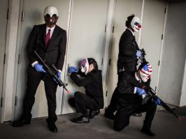 Payday 2 - Attempting The Stealth Approach by XxElJefexX