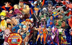 Shonen Jump vs. Capcom by vsking123
