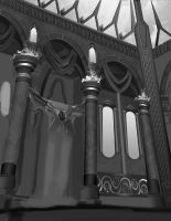 Great Hall - WIP by CourtneyBowen