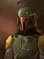 Portrait of a bounty hunter by FonteArt