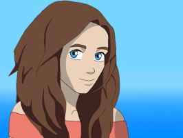 Me in Avatar style by grettullka