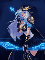 LoL: Ashe - Happy B-day Ragora! by ryumo
