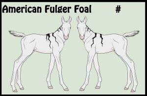 Saand Fulger Foal by Howlingreaches