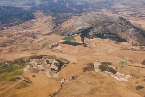 Landscape from the air by archaeopteryx-stocks