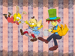 alice in simpsons by dust6