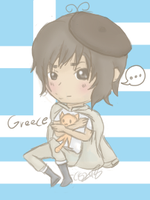 APH: Greece Chibi by CaittheCat