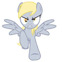 Furious Derpy Vector by GreenMachine987