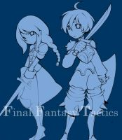 WIP: Final Fantasy Tactics by paper-hero