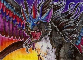 ACEO Mistress-of-Air by Nachiii
