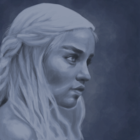 Daenerys Targaryen by Fish-Box
