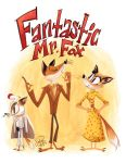 Fantastic Mr. Fox by happydoodle