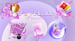 Fayr Lady Icons by barbatruk-tho