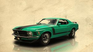1970 Ford Mustang Boss 302 by bedobaho