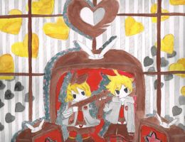len and rin by inupuppy1412