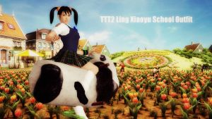 TTT2 Xiaoyu school Outfit Download by LingLostHappinesXiao