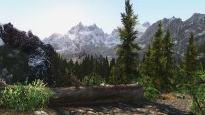 Yet another picture of Skyrim's beauty by Xyno76