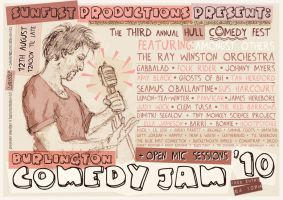 Comedy Jam Poster 001 by hesir