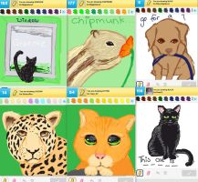 Draw Something!!! (animal edition) (Day 119) by Hedwigs-art