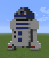 Minecraft - R2D2 by Unstable-Life