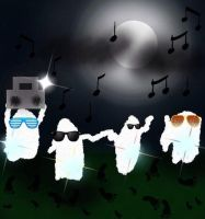 ghost party by misspepita
