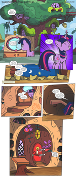 MLP:FiM - Shadows of the Past #1 by PerfectBlue97