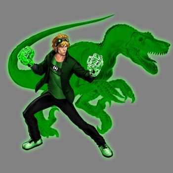 Green Lantern Chase Stein by Lord-Lycan