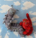 Absolem and Red Cheshire Cat by Sukhanov