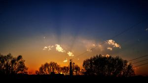 sunset by PhorionImaging