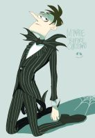 Heinz Doofenshmirtz --- JAck Skellington by guriko0901