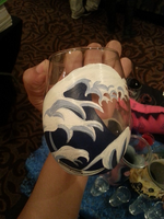 Hokusai inspired glass by Prosandconscosplay