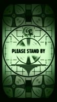 Fallout Please Stand By iPhone 5/6 Lock Screen by smills8