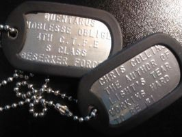 Dog tags by Quentarus