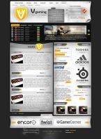 layout V gaming esport by Bob-Project