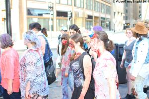 Boston Zombie March 2014 - Zombie March 14 by VideoGameStupid