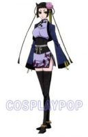 Black Butler Ranmao Costume for Cosplay by meganpu